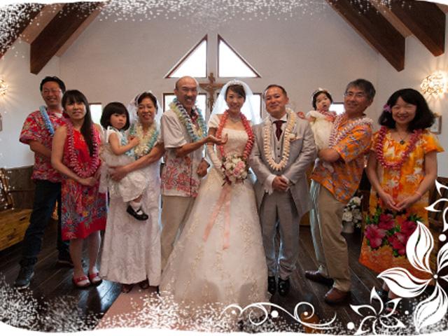 南国ムードたっぷり☆KUKURUのかりゆしウェアをプレゼントしました!
