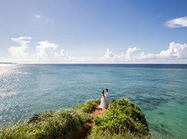 沖縄の絶景を巡る!ロケーションフォトウェディング The DREAM Studio