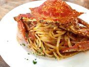 贅沢♡わたり蟹のトマトクリームパスタ Secondo Casa(セコンドカーサ)