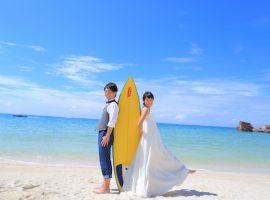 出会いはスキューバダイビング♡フォトウェディングのテーマは『海』♡