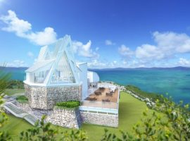 【2018年夏オープン!】絶景の挙式が2人の幸せを祝う『古宇利島空と海の教会』