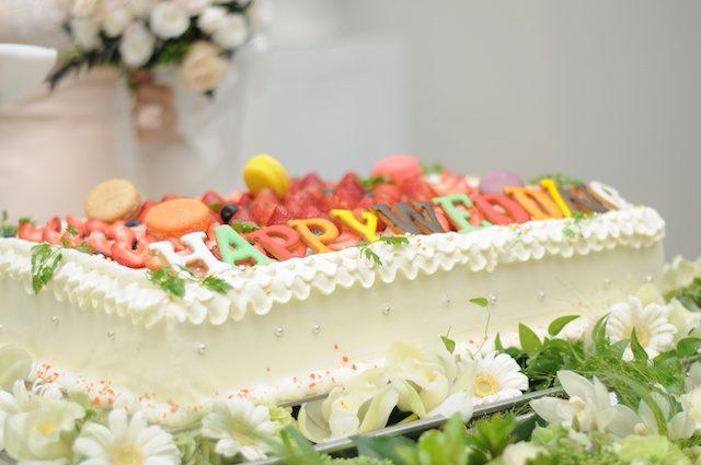 海・夏デザインの爽やかウェディングケーキ集*沖縄結婚式なら絶対コレ!!