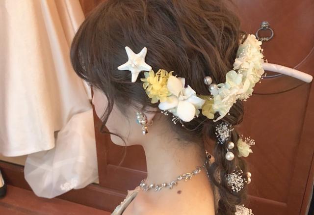 アリエルテーマの結婚式*花嫁の髪型どうする?オシャレなものをPICK UP!