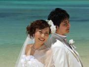 綺麗な海、真っ青な空、真っ白な雲!沖縄だからこそのウェディングフォトを♡