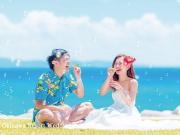 沖縄で前撮りするならこの衣装で決まり!カラフルな色使いで可愛く写真を彩ろう~5選~