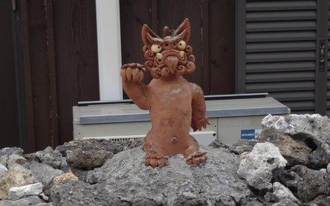 竹富島のシーサー1