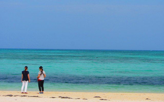 コンドイビーチ:八重山諸島:竹富島