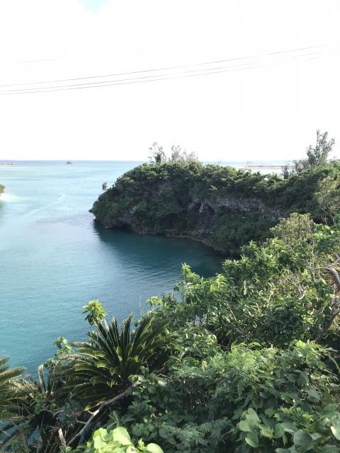 屋慶名海峡:頂上からの景色2
