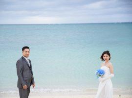 選べる2着のドレスで沖縄のフォトウェディングを満喫しました♡