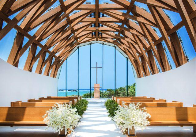 """""""結い"""" が生まれる「瀬良垣島教会」で、「アールイズ・ウエディング」の模擬挙式を体験!"""