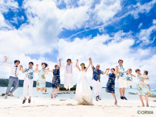 沖縄でガーデンウェディングを挙げるカップル必見!ゲストの服装にまつわる基本知識と3つのポイント