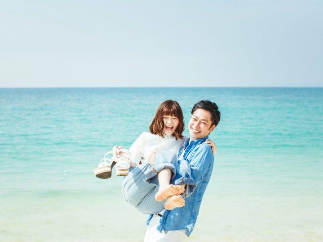 前撮りは宮古島のビーチで! 10万円以下の格安おすすめプラン4選