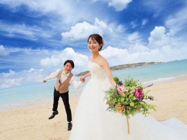 写真も宿泊もおまかせ!SunBlue沖縄のフォトウェディング