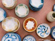 縁起物・サンゴのやちむんカップが人気*島陶芸工房「datta」