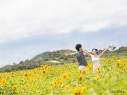 ひまわりの花言葉をモチーフに!沖縄ウェディングのブーケアイデア集