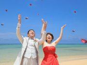 きれいな海、美しいビーチ、星空などプランたっぷり沖縄!サロンドキミコのフォトウェディング